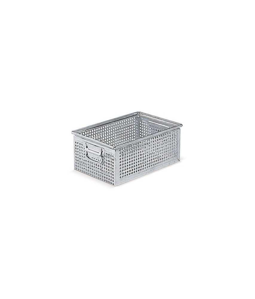 Lochkasten aus Metall