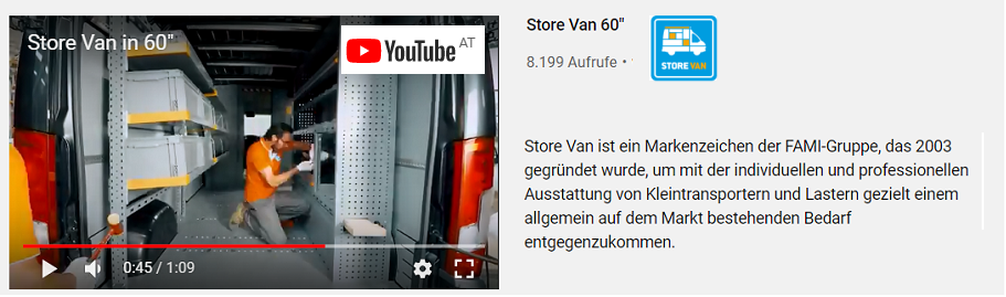 StoreVan-Video 60 Sek